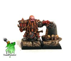 ToadPainter's Chaos Dwarf project - Page 3