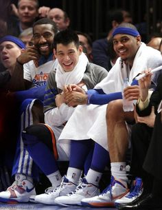 they made it happen for a little while for the Knicks...