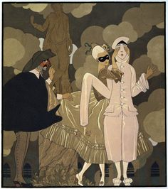 Surprise by Georges Barbier