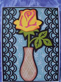 Carol's Cards: for my sister, cricut, walk in my garden