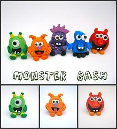 Fondant monsters!