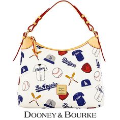 Must. Have. Immediately. Los Angeles Dodgers MLB Hobo by Dooney & Bourke - MLB.com Shop