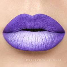 """458 Likes, 11 Comments - GENEVIEVE Jauquet Perez (@genevievejauquet) on Instagram: """" I could really do #ombré lips every day on myself   @jeffreestarcosmetics Velour Liquid…"""""""
