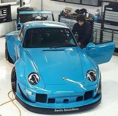 Porsche by RWB Porsche Turbo S, Porsche Boxster, Alfa Cars, Porsche Cars, Jdm, Stance Nation, Carros Lamborghini, Custom Porsche, Rauh Welt
