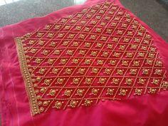 South Indian Blouse Designs, Black Blouse Designs, Cutwork Blouse Designs, Best Blouse Designs, Bridal Blouse Designs, Embroidery Blouses, Kurti Embroidery Design, Embroidery Neck Designs, Couture Embroidery