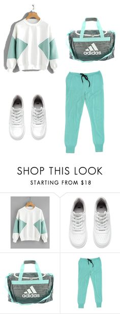 Секс в большом городе  (Урок 1_Стили) by olgakiss on Polyvore featuring мода, Markus Lupfer, H&M and adidas Adidas, Shoe Bag, Polyvore, Bags, Stuff To Buy, Shopping, Clothes, Shoes, Collection