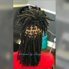 Braids For Girls Black For Kids Two Strand Twists 34 Ideas 2 Strand Twist Styles, Two Strand Twists, Braid Styles, Dreadlock Hairstyles For Men, Dreadlock Styles, Braided Hairstyles, Braided Updo, Protective Hairstyles, Protective Styles
