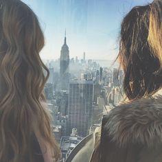 Top of the Rock / NYC / pinterest.com/alexandraahodge