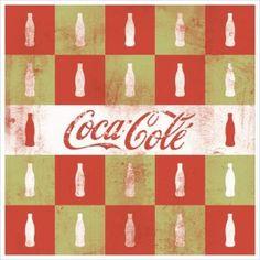 Coca cola vintage poster