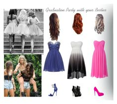 """""""Graduation Party with your Besties ❤️"""" by ilovehorses02 ❤ liked on Polyvore"""