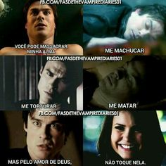 Oh ti love Memes Vampire Diaries, The Vampires Diaries, Vampire Diaries Wallpaper, Vampire Diaries The Originals, Delena, Teen Wolf, Frases Tvd, Phrase Of The Day, Vampire Daries