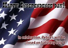 PFG will be closed Saturday Happy Independence Day, Events, Celebrities, Happenings, Celebs, Celebrity, Famous People