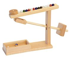 Amish Handmade MARBLE MACHINE Hardwood Hands-On Mechanical Classic - Choice of Finish This classic, wood MARBLE MACHINE is perfect for an office, waiting room, college dorm, or just about anywhere! In