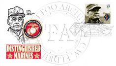Chesty Puller Ribbons | puller first day cover