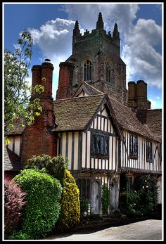 Stoke-by-Nayland . Suffolk . England. My Fathers side of the family came from Suffolk, another county I love.