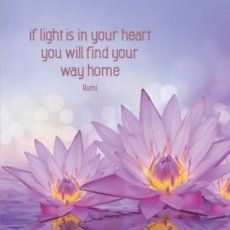 If light is in your heart...