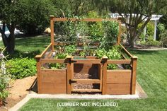 Just Add Lumber Vegetable Garden Kit - 8'x8' Deluxe, http://www.amazon.com/dp/B004SYQBZC/ref=cm_sw_r_pi_awdm_tqMrtb0BAN4JR
