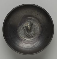 Deep bowl. Date: Middle 3rd to early 2nd century B.C. Culture: Greek, South Italian, Calenian Period: Hellenistic Medium: Black glaze, The Ancient Way of Life