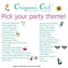 Who wants to have a themed jewelry bar!? Here are some great ideas!! Contact me to book your party!! lynnette.pfaff@icloud.com