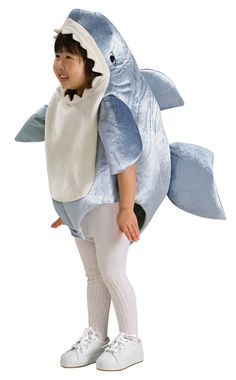 halloween costume rubies costume co unisex child deluxe shark romper costume gray months - Halloween Costume Shark