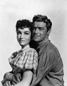 photo Julie and Jeff Richards film Seven Brides for Seven Brothers 667-33