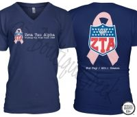 Zeta Tau Alpha Draft Tee - ZTA Collection. Design Exclusive to BoutiqueGreek.com OH MY LORD I MUST GET THIS!