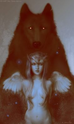 submissive-fallen-angel: My master saw this picture and he thought of me because it's my taste, it is :) Whos afraid of the big, bad wolf? :)
