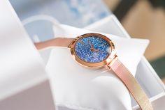 Le cadeau de Noël idéal: la montre Pierre Lannier avec cristaux Swarovski ® - MY INVISIBLE ESSENTIALS