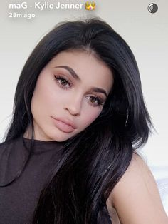 Sultry snap: Kylie Jenner posed for numerous selfies on Thursday as she hosted Thanksgiving for her family