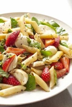 Strawberry-Pasta-Salad