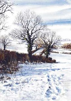 Paint Your Own Watercolour Christmas Cards | Features | Painters Online