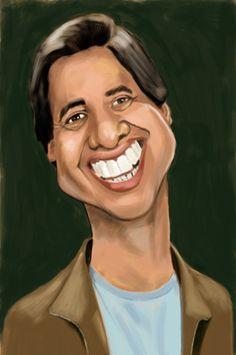 Ray Romano (by Rick Hamilton) Funny Caricatures, Celebrity Caricatures, Celebrity Drawings, Cartoon Faces, Funny Faces, Cartoon Art, Caricature Artist, Caricature Drawing, Drawing Art
