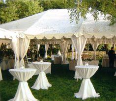 wedding tent decorations photos | White Wedding Reception Tent Decorations Archives | Weddings ...