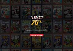 Ultimate 75th is a website dedicated to Marvels 75th anniversary  http://www.ultimate75th.com/