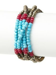 5 strand bead bracelet - Google Search