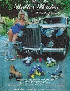 Roller Skates advertisement, October 1979.