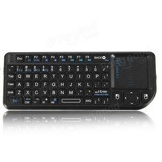 Rii Mini X1 2.4G Wireless Air Keyboard with Mouse Touchpad Sale-Banggood.com
