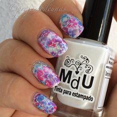 #smooshynailsunday #manicure with #addon @linanailartsupplies MYM 03 @mundodeunas White . . #unhasdasemana #unhasdecoradas #unhasbonitas…