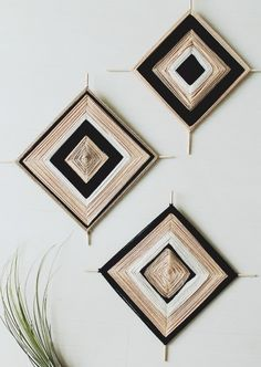 15 Modern DIY Projects for Bridal Shower Activities Yarn Crafts, Diy And Crafts, Arts And Crafts, Wood Crafts, Adult Crafts, Diy Wood, Diy Wall Art, Diy Art, Fabric Wall Art
