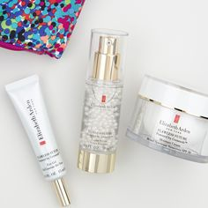 Try our #FlawlessFuture Collection today & receive a cosmetic bag designed exclusively for you by Shoshanna.