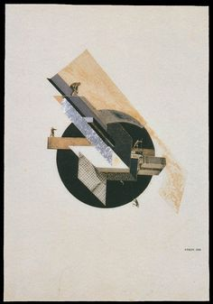 Klucis-Dynamic-City // Густав Клуцис. Динамический город. 1919.