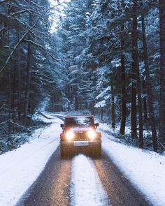 Image about snow in Winter❄ by LbC' on We Heart It Winter Love, Winter Is Coming, Adventure Awaits, Adventure Travel, Twilight, Alaska, Christmas Aesthetic, Jeep Life, Adventure Is Out There