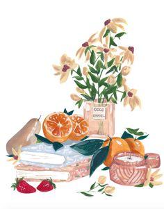 illustration by sabina fenn Watercolor Illustration, Watercolor Paintings, Watercolour, Face Paintings, Body Painting, Painting Art, Illustrator, Still Life Art, Cute Art