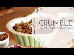 CRUMBLE DE FRUTAS VERMELHAS