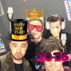 """thedailystyles: """" NYRE: .@onedirection's day after New Year's I-partied-too-hard face. """""""