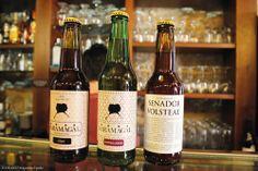 Surtido de cervezas Saramagal, artesanas y 100% naturales.