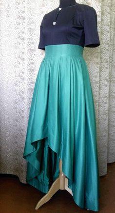 Построение выкройки нарядной юбки http://ledimai.ru/