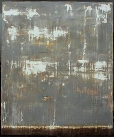 hetart:  contrasted grey - 180 x 150 x 4cm - mixed media on canvas - CHRISTIAN HETZEL