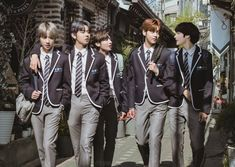 Tomorrow × Together Korean K Pop, March 4, Blue Aesthetic, Bts Pictures, Korean Boy Bands, Seoul, Entertainment, Photoshoot, Poses