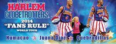 The Original Harlem Globetrotters llegan a Puerto Rico! Escoge tu asiento hoy en www.tcpr.com #HarlemGlobetrotters #PuertoRico